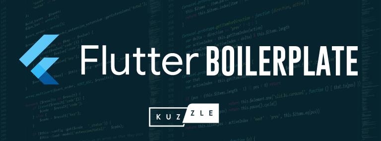 Kuzzle Flutter Boilerplate