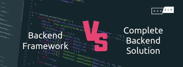 Blogpost petit _ Backend VS Framework