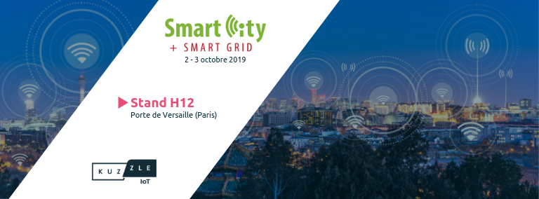Rencontrez la Kuzzle team au salon Smart City + Smart Grid