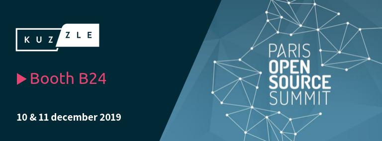 Meet Kuzzle at the Paris Open Source Summit 2019