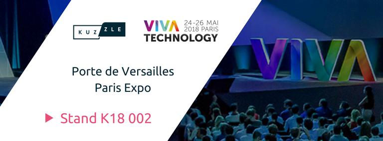 Rencontrez Kuzzle sur le salon Viva Technology Paris 2018