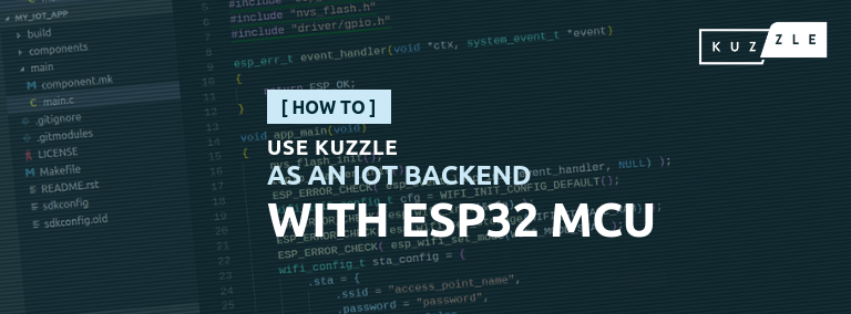 Use Kuzzle as an IoT Backend with ESP32 MCU