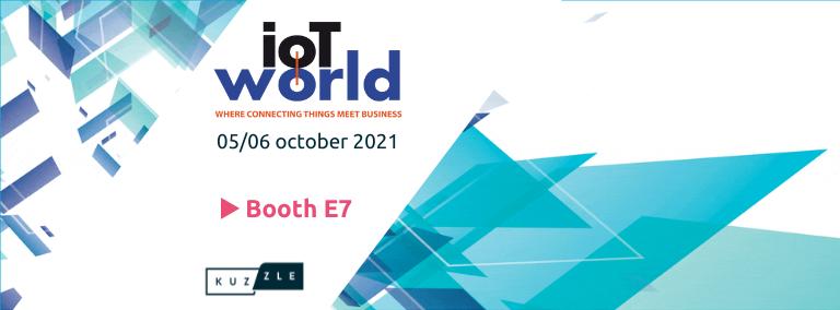 Meet us at IoT World 2021