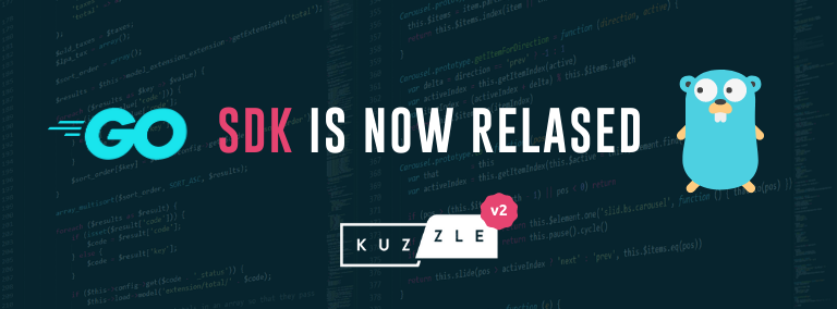 Go SDK released for Kuzzle v2