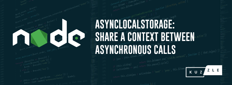 Node.js 14 & AsyncLocalStorage: Share a context between asynchronous calls