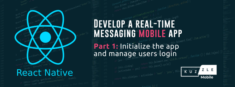 Develop a real-time messaging mobile app with React Native