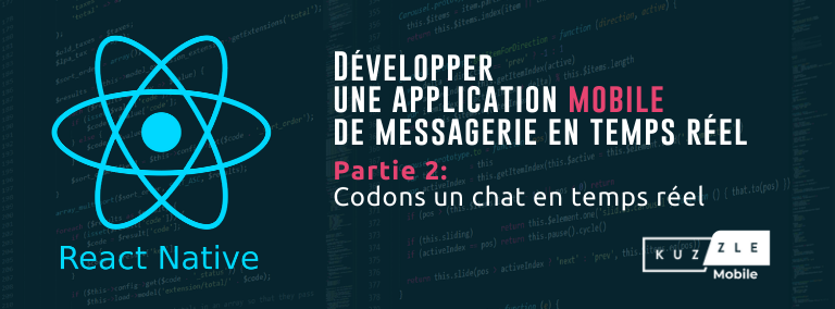 Codons une application mobile de messagerie en temps réel avec React Native