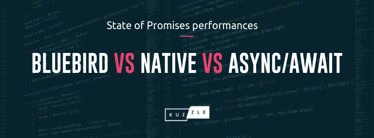 Bluebird vs Native vs Async/Await - State of Promises performances in 2019