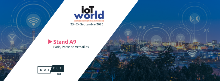 Rencontrez la Kuzzle team à l'IoT World 2020